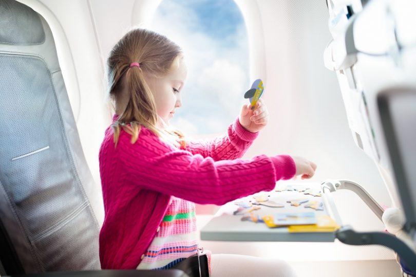Ocioneo consejos viajar avión niños