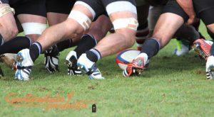 Seranco y el campo de rugby Alcobendas