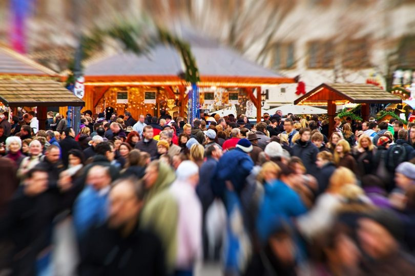 SeguroyProtegido evitar robos aglomeraciones navideñas