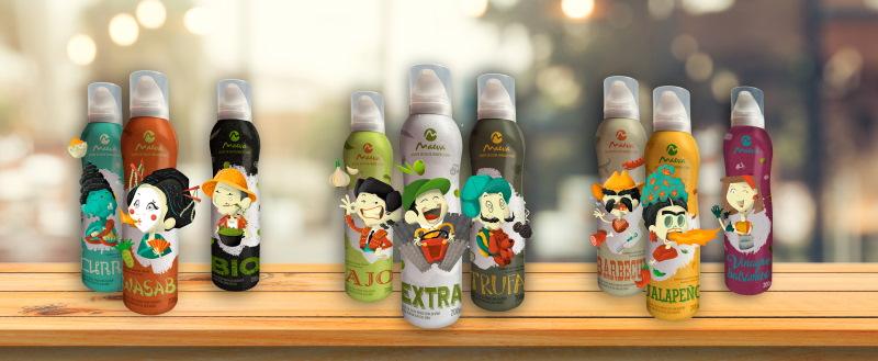 Descubre los nuevos aceites de oliva en spray de Aceites Maeva