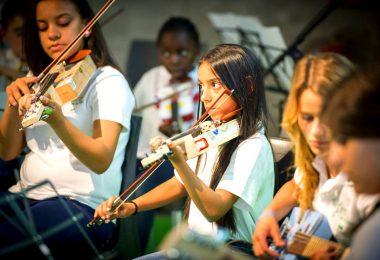 """Ecoembes recibe opiniones positivas por la última acción de """"La música del reciclaje"""""""
